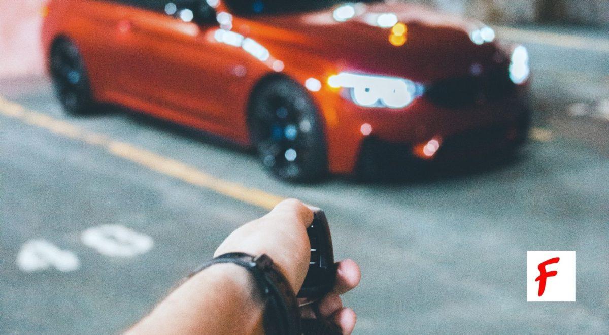 Открытие автомобиля по радиосигналу