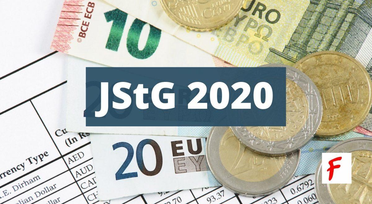 Изменения в закон о ежегодном налогообложении 2020 (Jahressteuergesetz, JStG 2020)