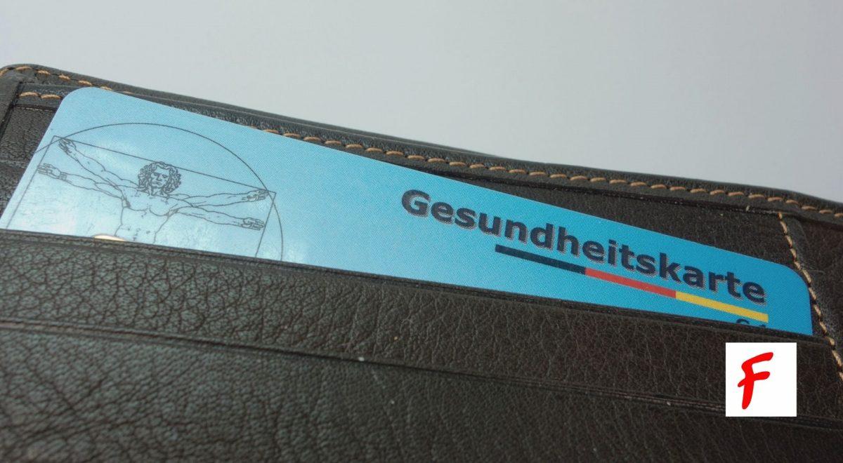 Карточка обязательного медицинского страхования в Германии